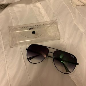 brand new quay high key sunglasses